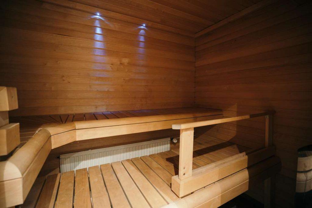 Saunatilan sauna